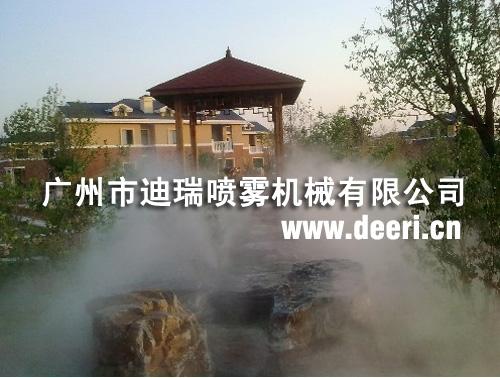 人工自然造雾系统